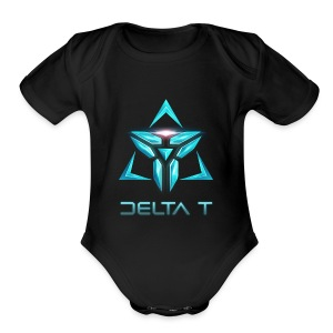 Delta T new Logo - Short Sleeve Baby Bodysuit