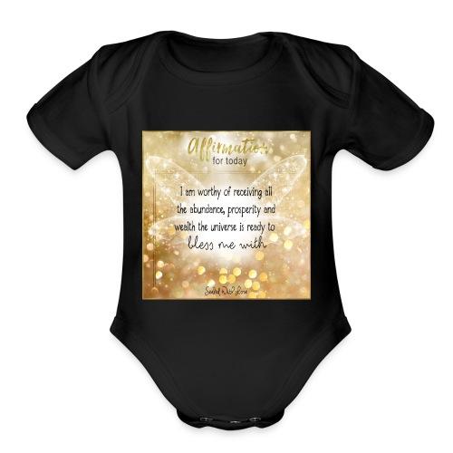 Abundance - Organic Short Sleeve Baby Bodysuit