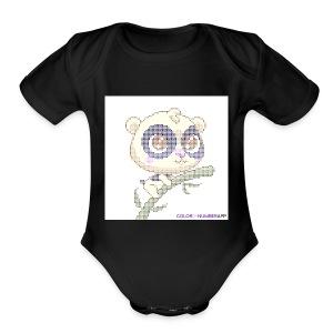 IMG 0088 - Short Sleeve Baby Bodysuit