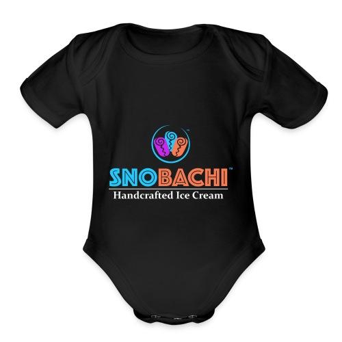Rev Logo A - Organic Short Sleeve Baby Bodysuit
