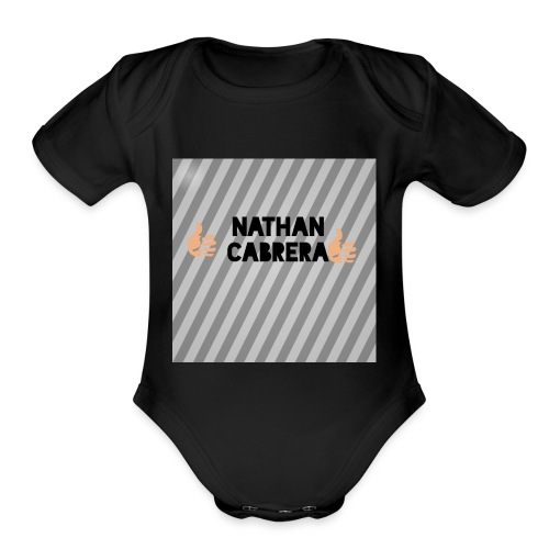Like status - Organic Short Sleeve Baby Bodysuit