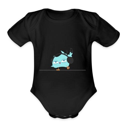 coolBird - Organic Short Sleeve Baby Bodysuit