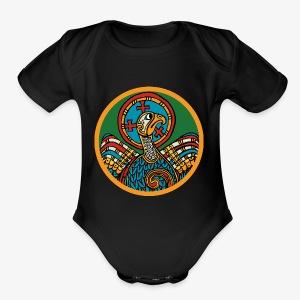 Book of kells - Short Sleeve Baby Bodysuit