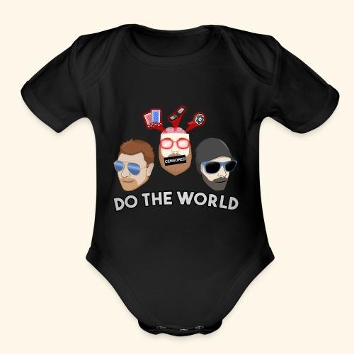 2018 Logo - Organic Short Sleeve Baby Bodysuit