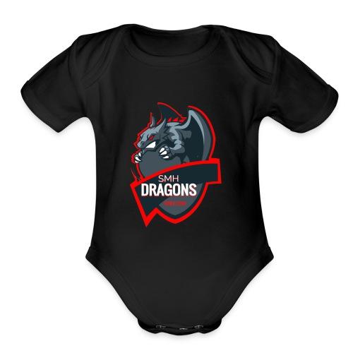 The SMH Dragons - Organic Short Sleeve Baby Bodysuit
