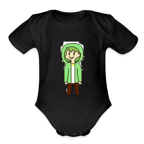 20 9 - Organic Short Sleeve Baby Bodysuit