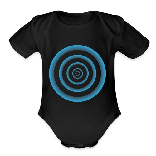 The Time Circle - Organic Short Sleeve Baby Bodysuit