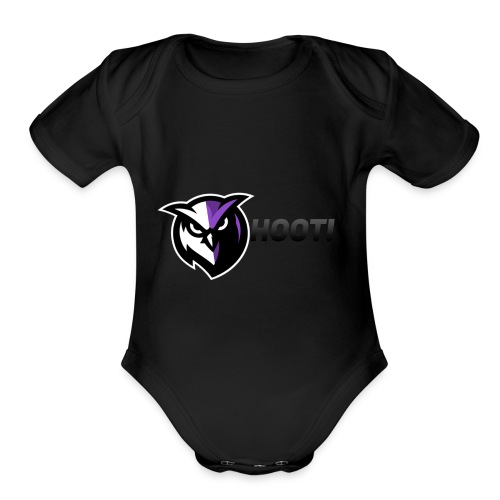 And We all HOOT! - Organic Short Sleeve Baby Bodysuit