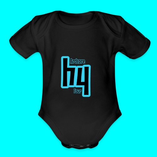 Original Hardcore 4 Design - Organic Short Sleeve Baby Bodysuit