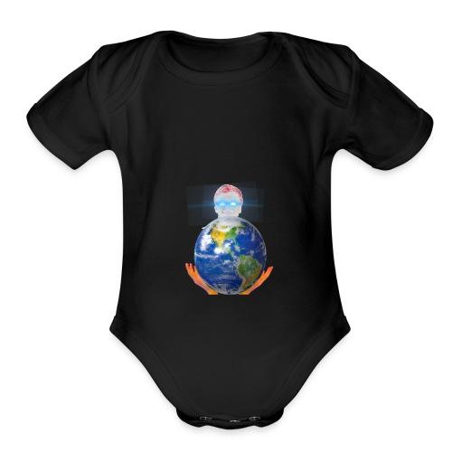 🅱️ill 🅱️ates - Organic Short Sleeve Baby Bodysuit
