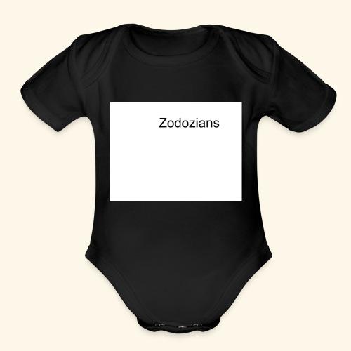 Untitled drawing - Organic Short Sleeve Baby Bodysuit