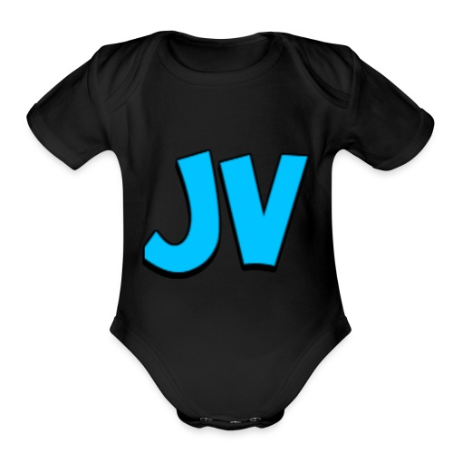 JVmerch - Organic Short Sleeve Baby Bodysuit