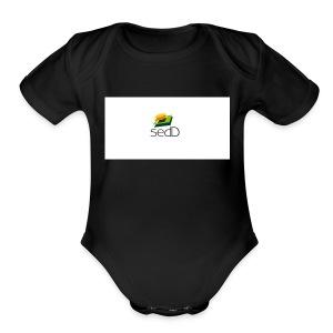 SEDD SWETER - Short Sleeve Baby Bodysuit