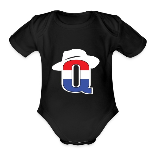 QbredWB - Organic Short Sleeve Baby Bodysuit