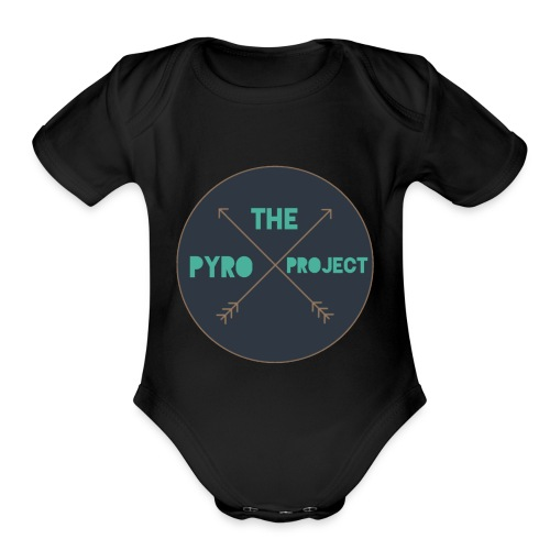 The Pyro Project - Organic Short Sleeve Baby Bodysuit