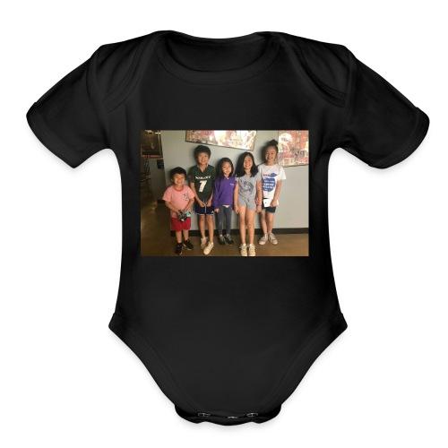 56EF43E5 70CE 4ACC 81CF 7A6B07D4C106 - Organic Short Sleeve Baby Bodysuit