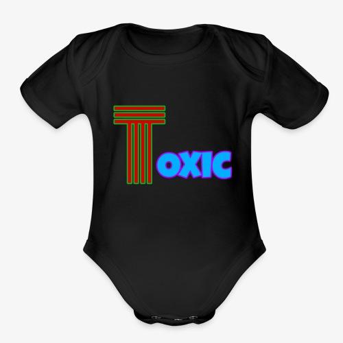 Toxic Merch - Organic Short Sleeve Baby Bodysuit