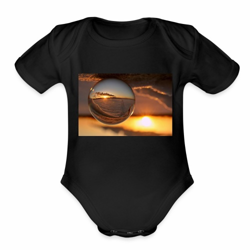 ami;ing products - Organic Short Sleeve Baby Bodysuit