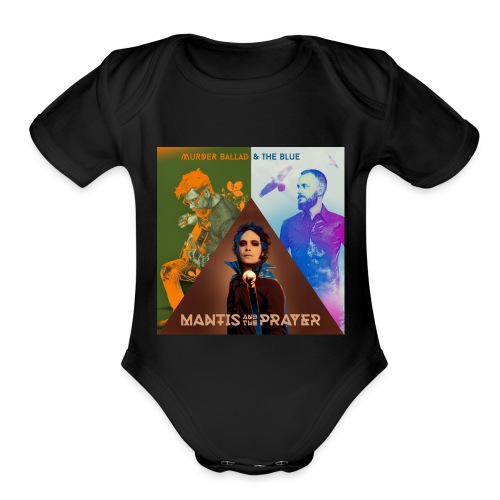 Murder Ballad & The Blue - Organic Short Sleeve Baby Bodysuit