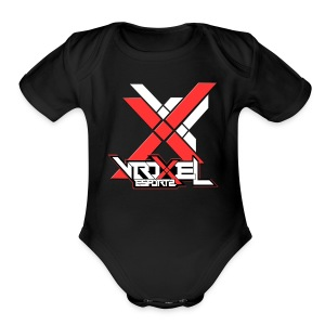 VXL Red Collection - Short Sleeve Baby Bodysuit