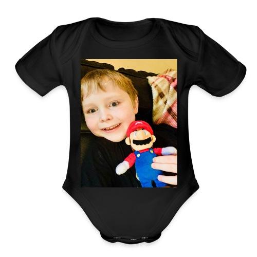 7A64EB6C 0D91 408A AC26 6EFC3A47AA73 - Organic Short Sleeve Baby Bodysuit