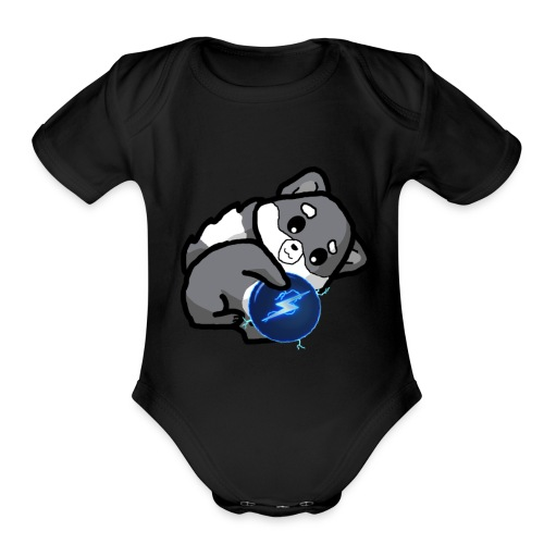Eluketric's Zapp - Organic Short Sleeve Baby Bodysuit