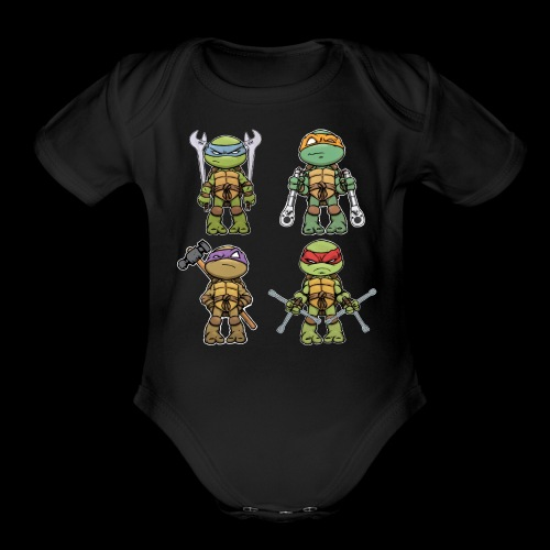 Ninja Automotive Performance - Organic Short Sleeve Baby Bodysuit