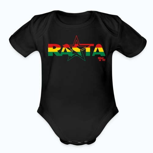 RASTA - Organic Short Sleeve Baby Bodysuit