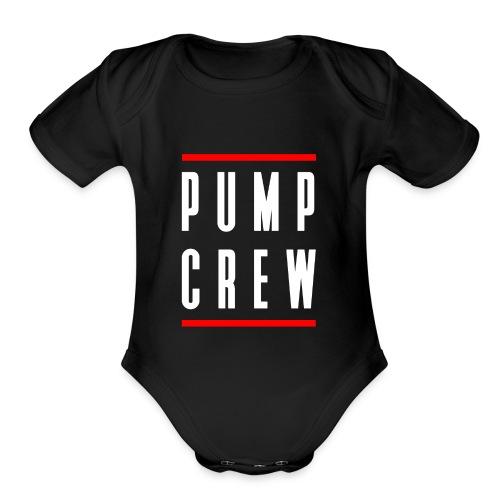 Pump Crew - Organic Short Sleeve Baby Bodysuit