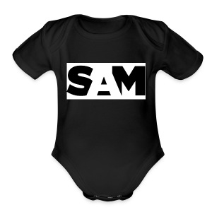 sam t-shirts - Short Sleeve Baby Bodysuit