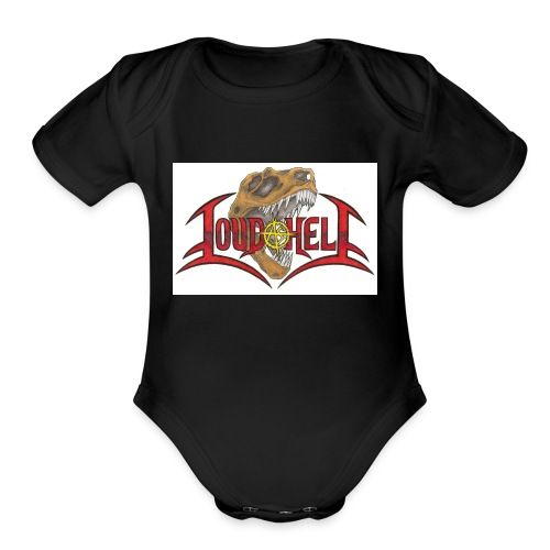 LAH2016 - Organic Short Sleeve Baby Bodysuit