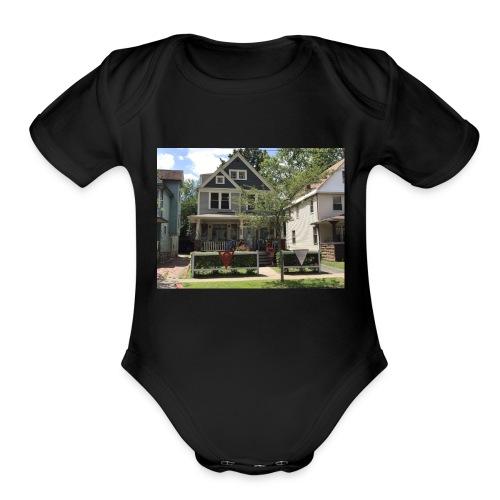 Christopher Superman Shop - Organic Short Sleeve Baby Bodysuit
