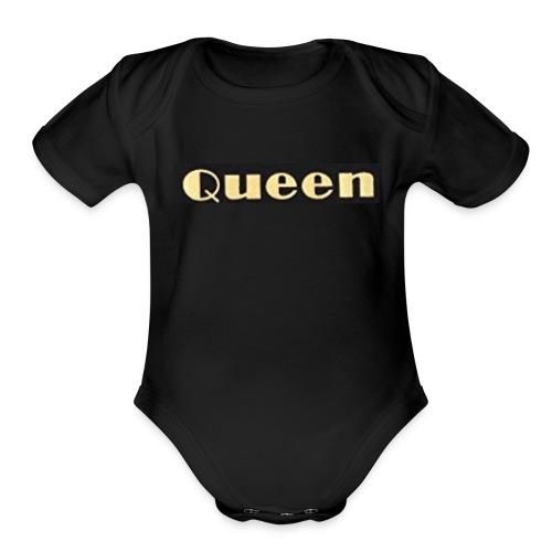 Baby girls - Organic Short Sleeve Baby Bodysuit