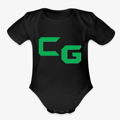 certifiedatol gaming logo - Organic Short Sleeve Baby Bodysuit