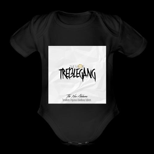 The Mob TrebleGang - Organic Short Sleeve Baby Bodysuit