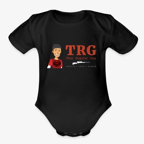 That Regular Guy Logo - Organic Short Sleeve Baby Bodysuit