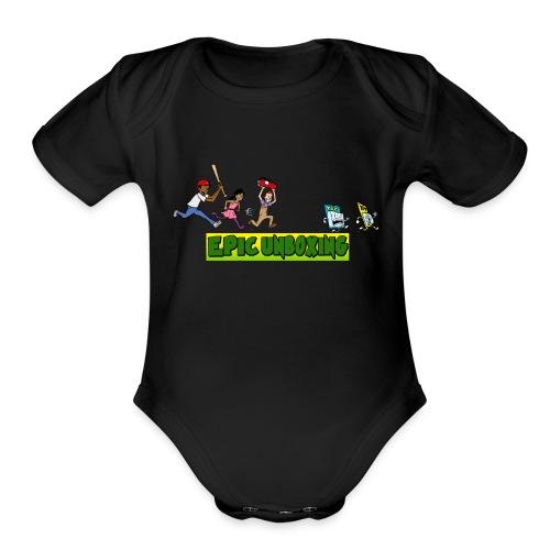 Epic Unboxing The Chase - Organic Short Sleeve Baby Bodysuit