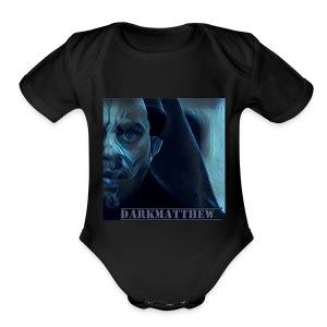Dark Matthew - Short Sleeve Baby Bodysuit