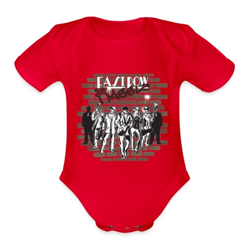 East Row Rabble - Organic Short Sleeve Baby Bodysuit
