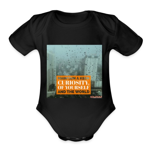GoldGap - Organic Short Sleeve Baby Bodysuit