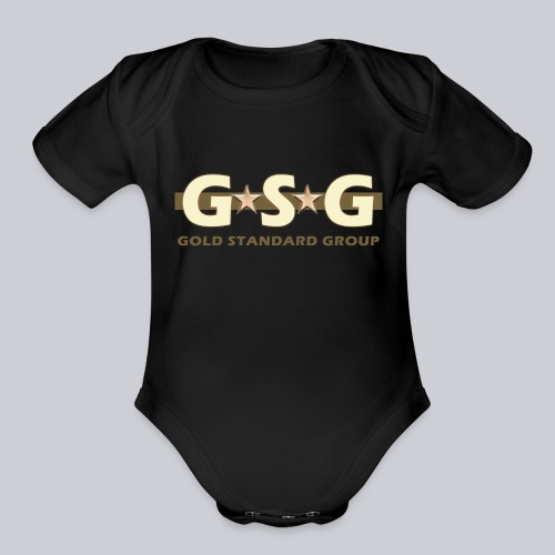 GSG The Gold Standard - Organic Short Sleeve Baby Bodysuit