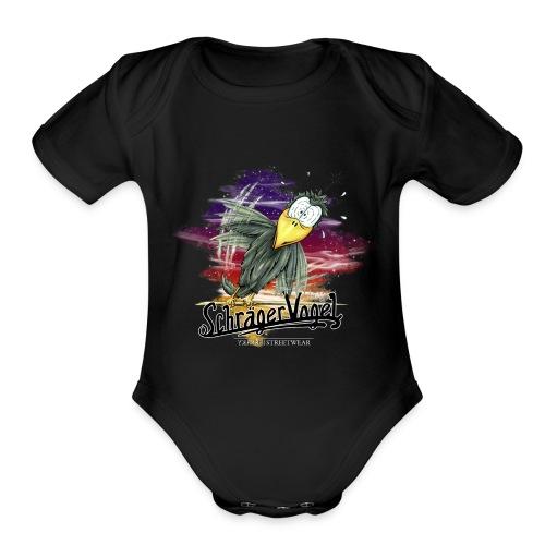 schräger Vogel - Organic Short Sleeve Baby Bodysuit