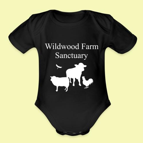 Black Cow - Organic Short Sleeve Baby Bodysuit
