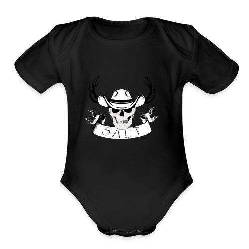 slightly salted - Organic Short Sleeve Baby Bodysuit