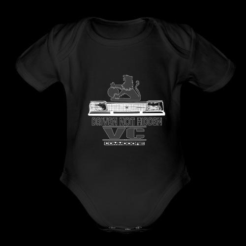 VC FRONT - Organic Short Sleeve Baby Bodysuit