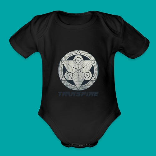 Sacred Geometry - Organic Short Sleeve Baby Bodysuit