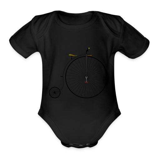 It was a time - Organic Short Sleeve Baby Bodysuit