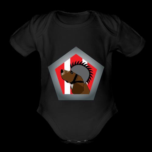 Punk Cooper - Organic Short Sleeve Baby Bodysuit
