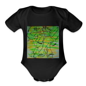 Edison and Otis - Short Sleeve Baby Bodysuit