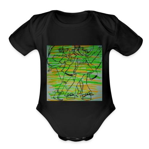 Edison and Otis - Organic Short Sleeve Baby Bodysuit